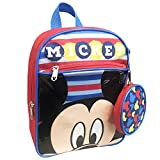 """Disney Mickey Mouse 10"""" Toddler Backpack with Coin Purse"""