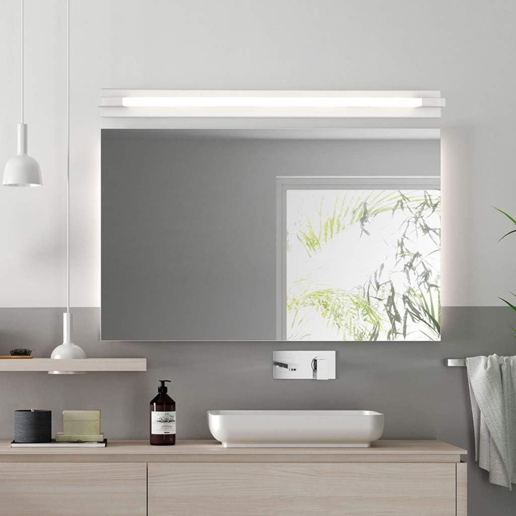 LXYZ Led Modernen Minimalistischen Spiegel Scheinwerfer Bad Bad Wandleuchte Bad Make-Up Lampe Spiegel Lampe Blackwhite Light76cm
