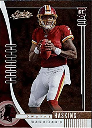 buy online 48948 836ae Amazon.com: 2019 Absolute NFL (Retail) #116 Dwayne Haskins ...