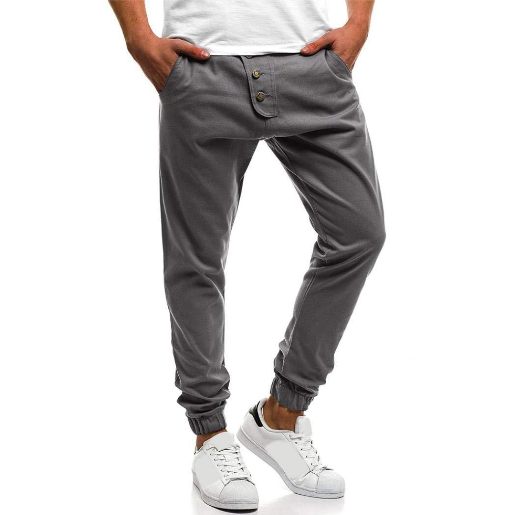 売れ筋商品 Pervobs PANTS Mens Pant Medium PANTS メンズ Pant B07G75CZB9 グレー Medium, 【こすたと】:6daa6121 --- diceanalytics.pk