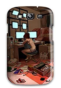 High Quality Shock Absorbing Case For Galaxy S3-computer