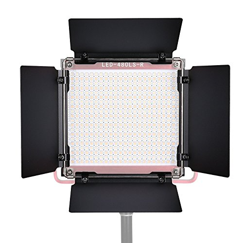 GVM Universal Barndoor for GVM480LS Video Light … by GVM