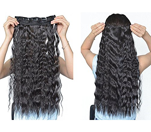 Synthetic Fiber Hairpieces Extensions Natural product image