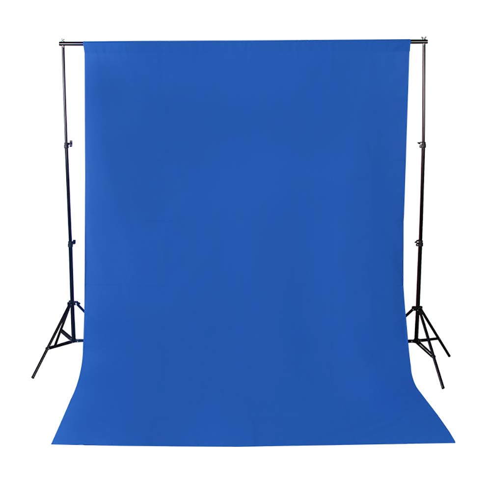 撮影背景布 ビデオスタジオ用ファブリック背景布 6 x 6M 単色 ブルー 無反射 背景シーン 写真撮影 写真スタジオ 全身撮影用 背景布 洗濯可能 繰り返し (600CM X 600CM, ブルー) 600CM X 600CM ブルー B07G4ZY5P1