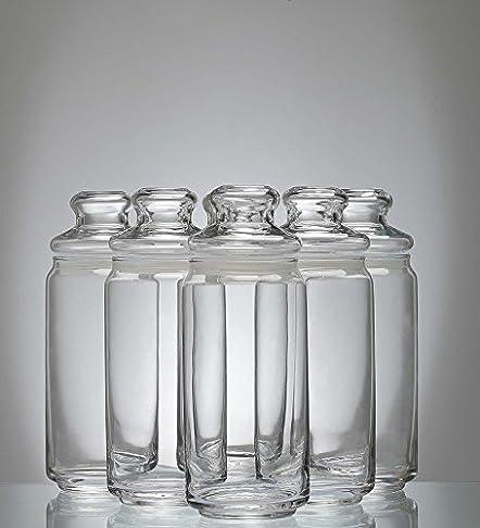 Ocean Pop Jar Set, 750ml, Set of 6 Jars & Containers at amazon