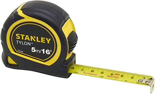 Stanley 2 Pack Long Life Durable Tylon Pocket Tape Measures 5m//16ft /& 8m//26ft