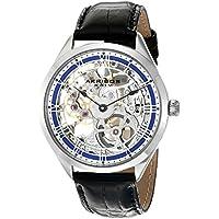 Akribos XXIV Amazon Exclusive Men's AK802BU Mechanical Hand Wind Blue Watch