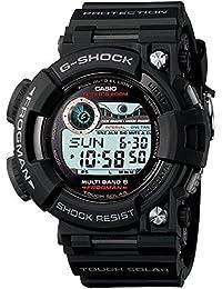 G-Shock Frogman Digital Dial Black Resin Solar Quartz Mens Watch GWF1000-1