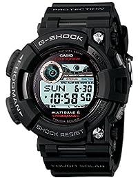 Casio GWF1000-1CR Men's G-Shock Stainless Black Resin Strap Band Black Watch