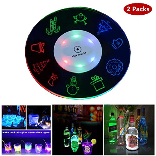 Light Up Coasters Led in US - 8