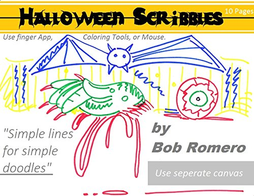 Halloween Scribbles: Simple lines for simple doodles for $<!---->