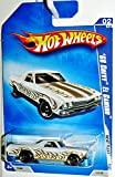Hot Wheels Walmart Exclusive Heat Fleet '68 Chevy El Camino White #118/190