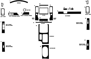 Rvinyl Rdash Dash Kit Decal Trim for Nissan Xterra 2005-2008 - Aluminum (Brushed Blue)