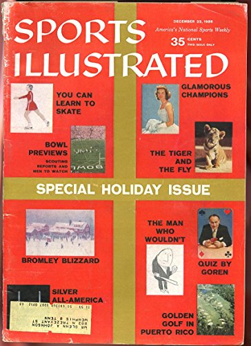 SI: Sports Illustrated December 22, 1958 Special Holiday Issue Glamorous Champs GOOD
