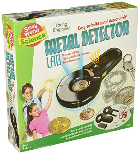 Small World Toys Metal Detector Lab Science Kit ()