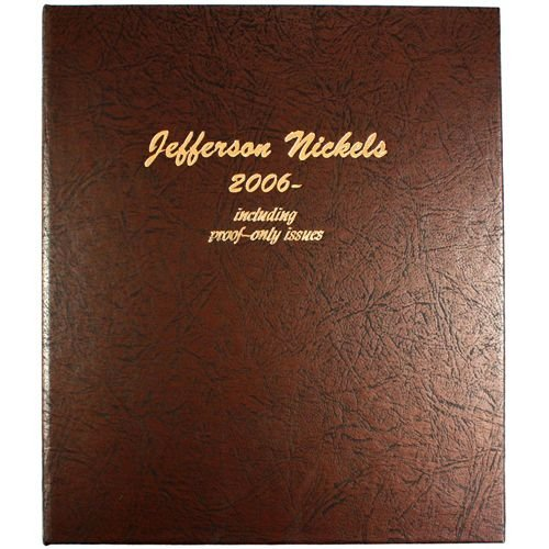 Dansco US Jefferson Nickel with Proof Coin Album 2006 - Date #8114 (Nickel Album)