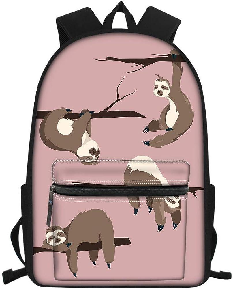 Mochila con diseño de caballo con estampado de libros-bolsas de mochila para adolescentes y niñas