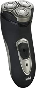 Sanford SF9809MS Rechargeable Rotary Shaver for Men, Black