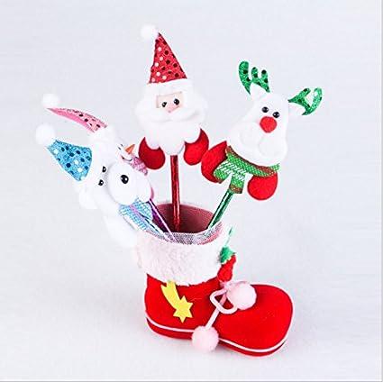 Tariq 1pcs Candy caja para zapatos niños familia regalo decoración de Navidad adornos feliz mañana rápida