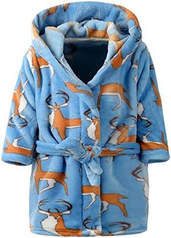 Bathrobes Toddler Flannel Bathrobe Sleepwear