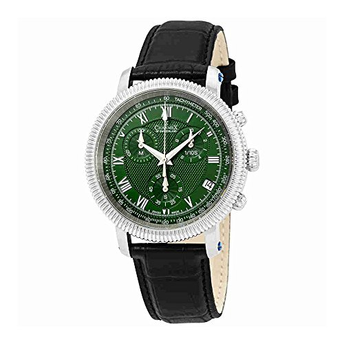 Charmex President II Chronograph Green Dial Mens Watch 2993