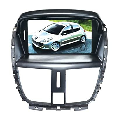 Peugeot 207 Navigation System & DVD Player with Radio