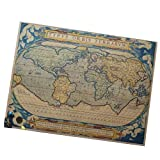 Retro Wall Map/Office Decoration Map/World Map/Navigation Mural