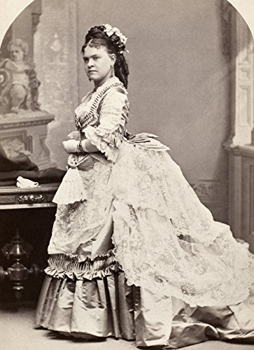 Posterazzi GLP469052LARGE Poster Print Collection Women's Fashion 1880S./Original Cabinet Photograph Of American Actress Ethel Wynne 1880S. Poster Print By, (24 X 36), (1880s Cabinet)