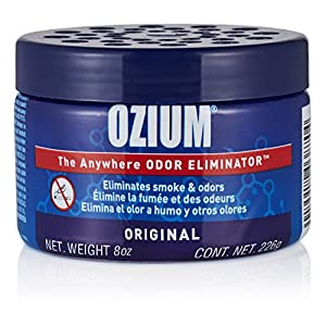 Ozium Smoke & Odor Eliminator 8oz (226g) Gel for Home, Office and Car Air Freshener, Original Scent