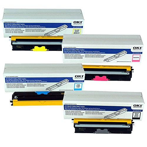OKIdata MC160 MFP Toner Cartridge Set ()