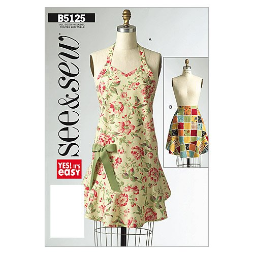 - BUTTERICK PATTERNS B5125 Aprons