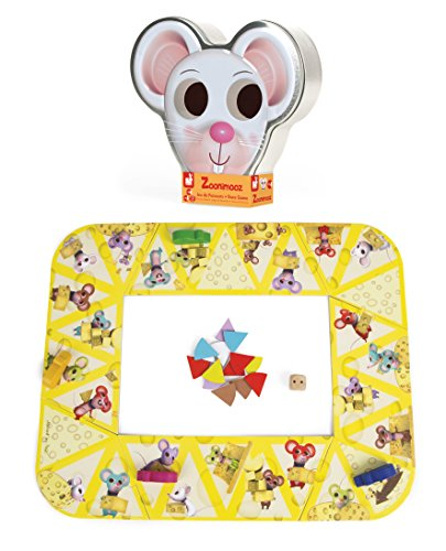 Janod Zoonimooz Mouse Action Tin Game