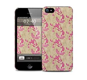 Cream Pink Floral iPhone 5 / 5S protective case
