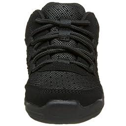 Capezio Little Kid Rockit DS24C Dance Sneaker,Black,13 M US Little Kid