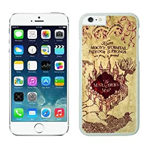 BINGO retail Harry Potter Marauders Map iPhone 6 plus Case white covers by lolosakes