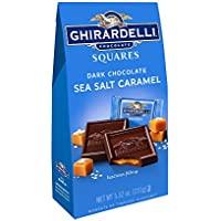 4 Pk. Ghirardelli Dark and Caramel Sea Salt Chocolate Squares