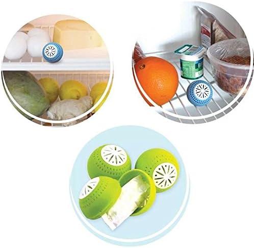 Anti-olor-juego de bolas para el frigorífico, 2er-Pack: Amazon.es