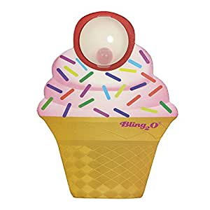 Bling2o Cupcake Bling Board – Kids Kickboard for Swimming - Helps Girls and Boys Learn to Swim
