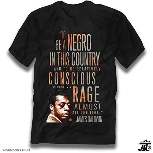 James Baldwin Rage Almost All The Time Premium Tee