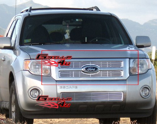 08-12 2011 2012 Ford Escape Perimeter Grille Grill Insert (Grills For Ford Escape compare prices)