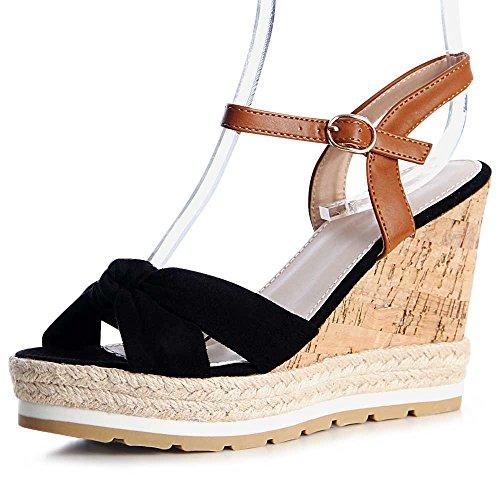 topschuhe24 - Sandalias de vestir para mujer negro