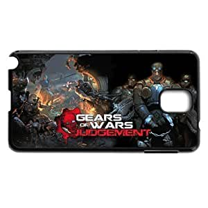 Nannette J. Arroyo's Shop Game Design 1 Gears Of War Judgment Print Black Case With Hard Shell Cover for Samsung Galaxy Note 3 4803362M88696381