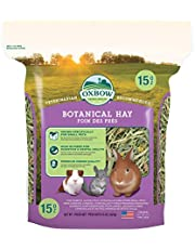 OXBOW 1011090150 Botanical Hay 15-Ounce Bag