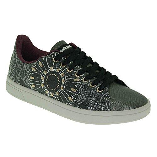 da Desigual Basse Donna Nero Cosmic Scarpe Ginnastica Shoes Blackstuds q6xIW46w7z