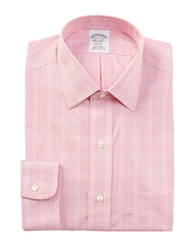 Brooks Brothers Mens Regent Dress Shirt, 17 35