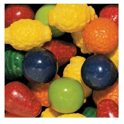 SCS Dubble Bubble Seedling Fruit Gumballs - 850 ct.