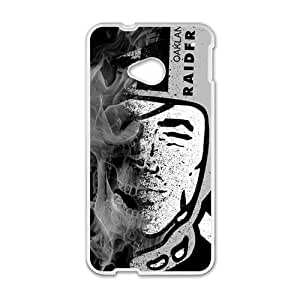 Happy Qakland Raiders Cell Phone Case for HTC One M7