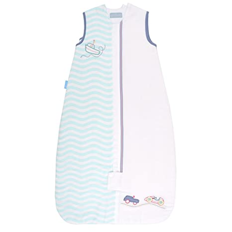 Vital Innovations 2488 grobag, saco de dormir infantil All Aboard, 1.0 tog, 18