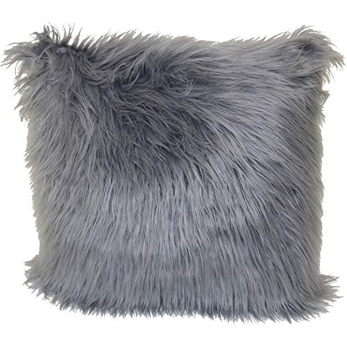 Better Homes and Gardens Angora Decorative Throw Pillow, 18