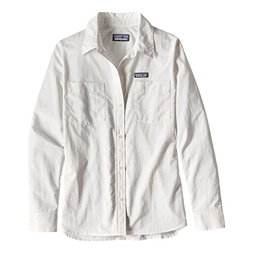 L Anchor s Bay W's Mujer Blanco Camisa Patagonia 1nxU5a